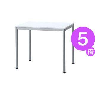 ■5倍ポイント■ユニットテーブル(W800×D600mm・ホワイト)[21]