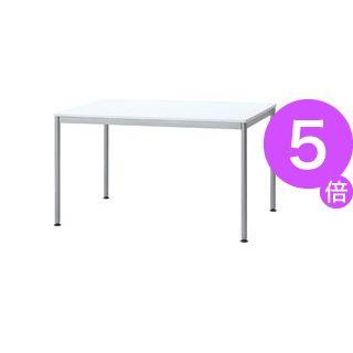 ■5倍ポイント■ユニットテーブル(W1200×D750mm・ホワイト)[21]