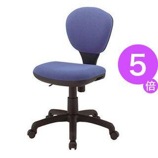 ■5倍ポイント■ジョインテックス 事務イス(オフィスチェア/OAチェア) C301J ブルー[21]