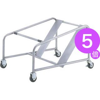 ■5倍ポイント■スタッキングチェアー用収納台車 T-15[21]