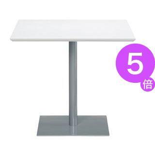 ■5倍ポイント■アール・エフ・ヤマカワ テーブル RFRT-800SW ホワイト[21]
