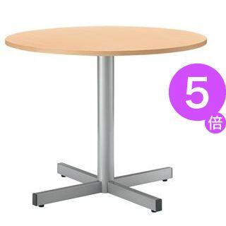 ■5倍ポイント■ジョインテックス テーブル RT-900 ナチュラル[21]