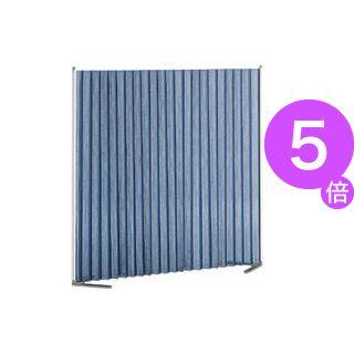 ■5倍ポイント■トヨダプロダクツ クロスパーティション ブルー KP-1N 1台[21]