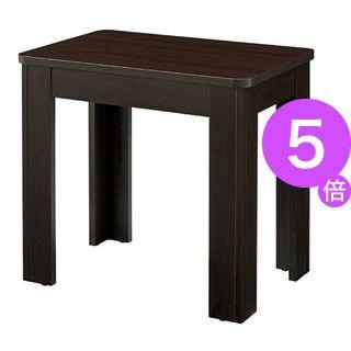 ■5倍ポイント■TOKIO サイドテーブル ST-0460 ブラウン[21]