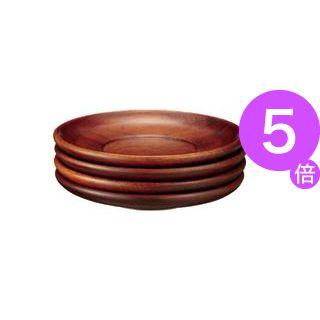 ■5倍ポイント■(業務用30セット) スマイル 玉渕茶托 5枚入 740808 ×30セット[21]