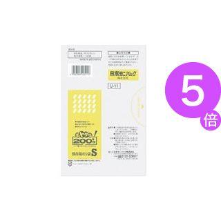 ■5倍ポイント■(業務用100セット) 日本サニパック おトクな保存用ポリ袋 U-11 S[21]