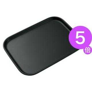 ■5倍ポイント■(業務用50セット) サンナップ ミニトレー MT-NSBK 長角 ブラック[21]