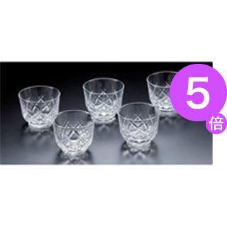 ■5倍ポイント■(業務用30セット) 佐々木硝子 冷茶グラス5客 MZB-05130-5[21]
