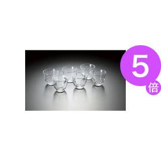 ■5倍ポイント■(業務用8セット)佐々木硝子 冷茶グラス(生活の器)6個セットB-03161-6 ×8セット[21]