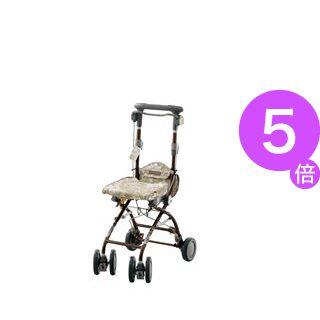 ■5倍ポイント■アロン化成 シルバーカー さんぽっぽ ベージュ 532-370[21]