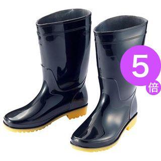 ■5倍ポイント■(まとめ) アイトス 衛生長靴 26.5cm ブラック AZ-4438-26.5 1足 【×10セット】[21]