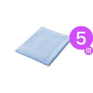 ■5倍ポイント■(業務用50セット) ジョインテックス おしぼりタオル10枚入 ブルー N109J-BL ×50セット[21]