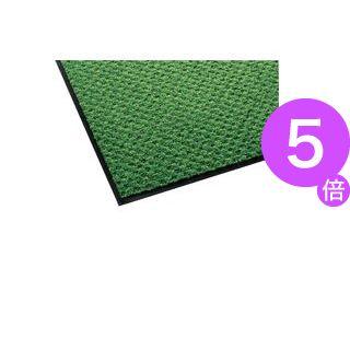 ■5倍ポイント■テラモト 玄関マット ハイペアロン 室内/屋内用 900×1800mm グリーン MR-038-048-1 1枚[21]