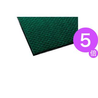 ■5倍ポイント■テラモト 吸水用マット テラレインライト 屋内用 900×1800mm 緑 MR-027-148-1 1枚[21]