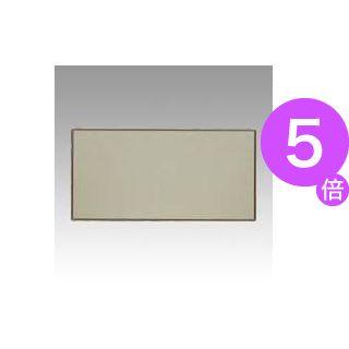 ■5倍ポイント■クラウン 掲示板 壁掛用 ベルフォーム貼・アルミ枠 アイボリー CR-BK36-I 1枚[21]