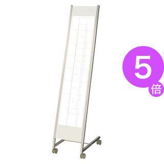 ■5倍ポイント■カタログスタンド(傾斜型) 1列7段 KS-17[21]