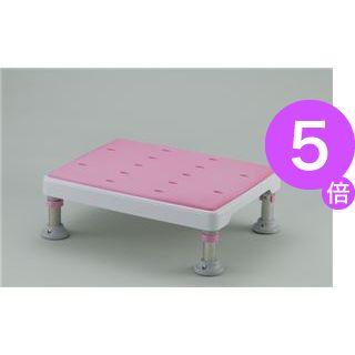 ■5倍ポイント■リッチェル 浴槽台 浴そう台高さ調節付やわらか (1)L型 ピンク 49751[21]