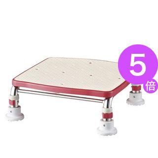 ■5倍ポイント■アロン化成 浴槽台 ステンレス製浴槽台Rジャスト(4)17.5-25 レッド 536-496[21]