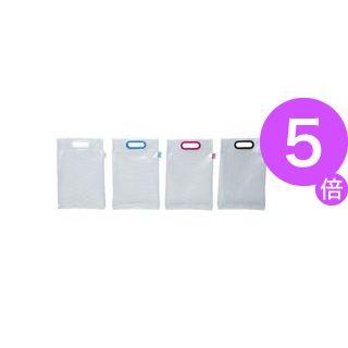 ■5倍ポイント■(業務用100セット) マグエックス メッシュバッグ A4 MMB-A4-K 黒[21]