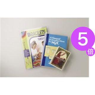 ■5倍ポイント■(業務用100セット) クツワ クリアカバー DH011 A4サイズ[21]