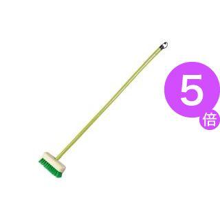 ■5倍ポイント■(業務用8セット)熱田資材 ナイロンデッキブラシ1本 NDB-401 ×8セット[21]