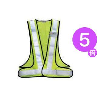 ■5倍ポイント■(業務用6セット)スリーエム 3M 高視認性反射ベストSVP-02Y ライムイエロー ×6セット[21]