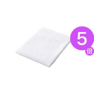 ■5倍ポイント■(業務用50セット) ジョインテックス おしぼりタオル10枚入 ホワイト N109J-WH ×50セット[21]