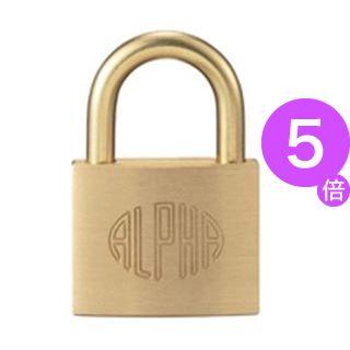 ■5倍ポイント■(業務用30セット) アルファファイブ 南京錠 1000-40/40mm[21]