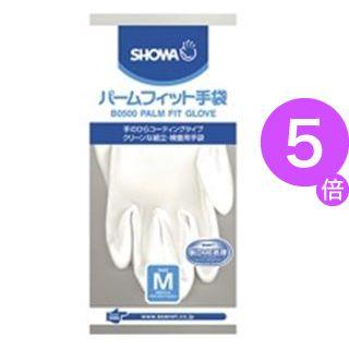 ■5倍ポイント■(業務用100セット) ショーワ パームフィット手袋 B0500 M 白[21]