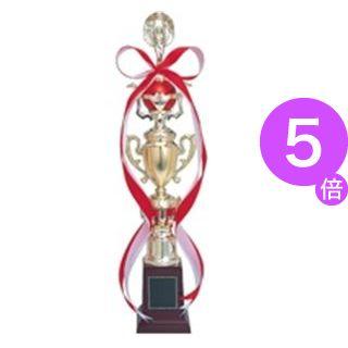 ■5倍ポイント■(業務用5セット) 三浦工芸製作所 トロフィー 475A 高さ470mm[21]
