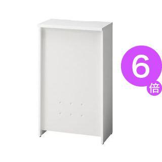 ■6倍ポイント■プラス カウンター BF-06HI W4/W4 ホワイト[21]