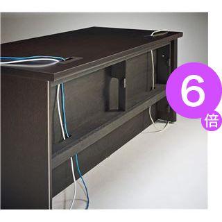 ■6倍ポイント■プレジデント用デスク(平机) PI-188D 【社長室、役員用家具】[21]