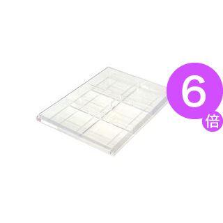 ■6倍ポイント■(業務用100セット) ナカバヤシ レターケース用仕切板浅型用AW-12S[21]