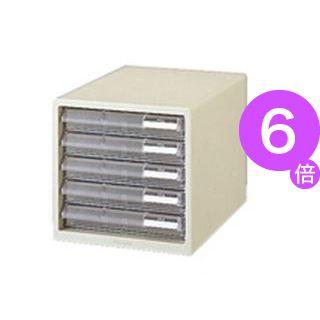 ■6倍ポイント■(業務用10セット) プラス レターケース LC-105A A4 浅5 ホワイト[21]