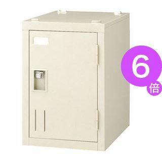 ■6倍ポイント■ジョインテックス 多人数ロッカー SH-G1B 1人用錠無[21]
