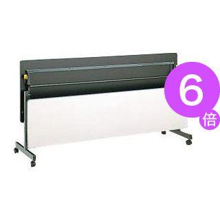 ■6倍ポイント■フラップテーブル PF-1845 ライトグレー[21]