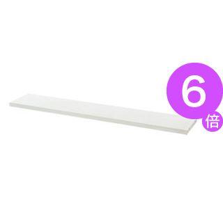 ■6倍ポイント■プラス 平机用棚板 LJ/RJ-14TI ホワイト W1400用[21]