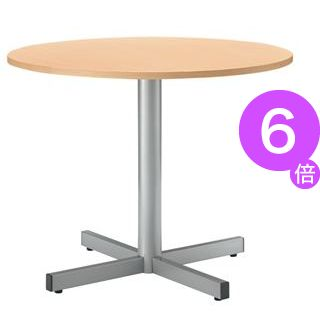 ■6倍ポイント■ジョインテックス テーブル RT-900 ナチュラル[21]