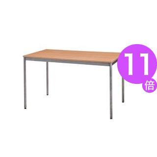 ■11倍ポイント■ユニットテーブル(W1200×D750mm・ナチュラル木目)[21]