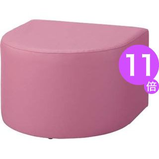 ■11倍ポイント■ロビー用チェアー LC-7105S1 ローズ[21]
