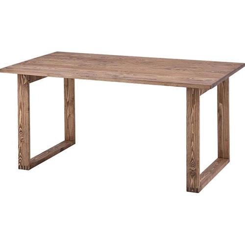 開梱設置が選べる アンティーク風木製ダイニングテーブル 幅150cm ルーアン