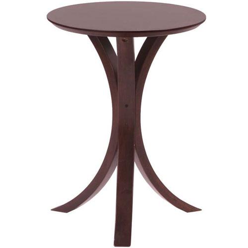 木製サイドテーブル