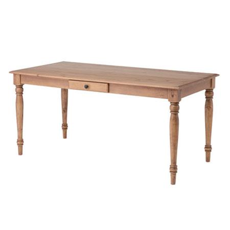 木製ダイニングテーブル バーニー 幅150cm
