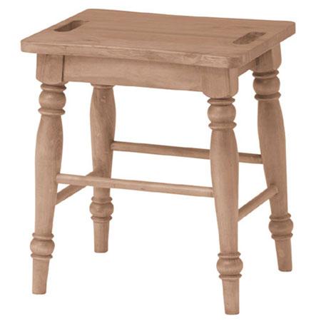 木製スツール バーニー 2脚組
