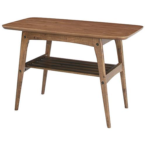 木製リビングテーブル トムテ S 幅75cm ウォールナット