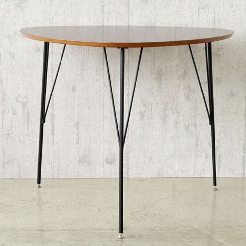 三角形ダイニングテーブル 幅90cm コリナ ga-dt-colina