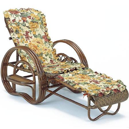 籐三つ折リクライニング寝椅子 カバー付き a202bm