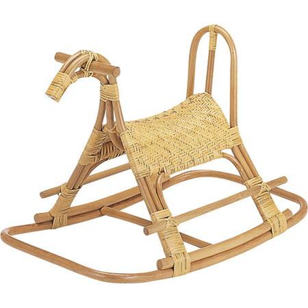 籐ロッキング子供馬 s564