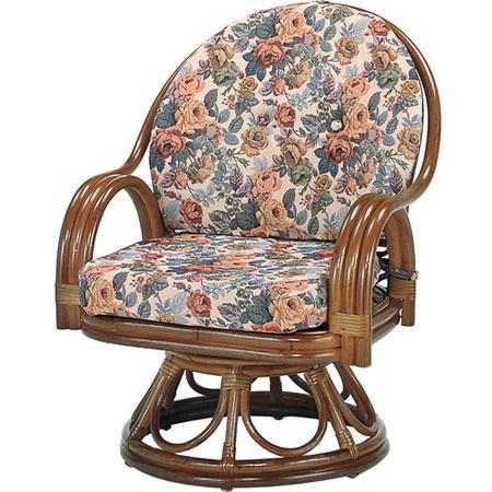 籐回転座椅子 ハイ s583b