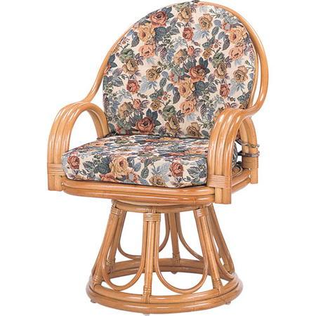 籐回転座椅子 ハイ s584